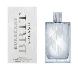 Burberry Brit Splash by Burberry Eau de Toilette Spray 3.3 oz for Men