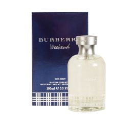 Burberry Weekend by Burberry for Men Eau de Toilette Spray 3.4 oz