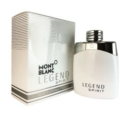 Legend Spirit by Mont Blanc for Men Eau de Toilette Spray 3.3 oz