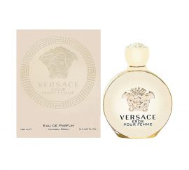 Versace Eros pour Femme by Versace for Women Eau de Parfum Spray 3.4 oz