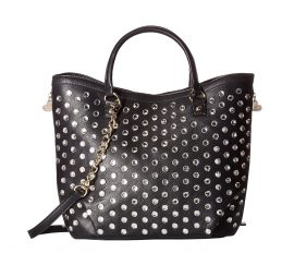 Betsey Johnson Stone Cold Fox Tote, Black