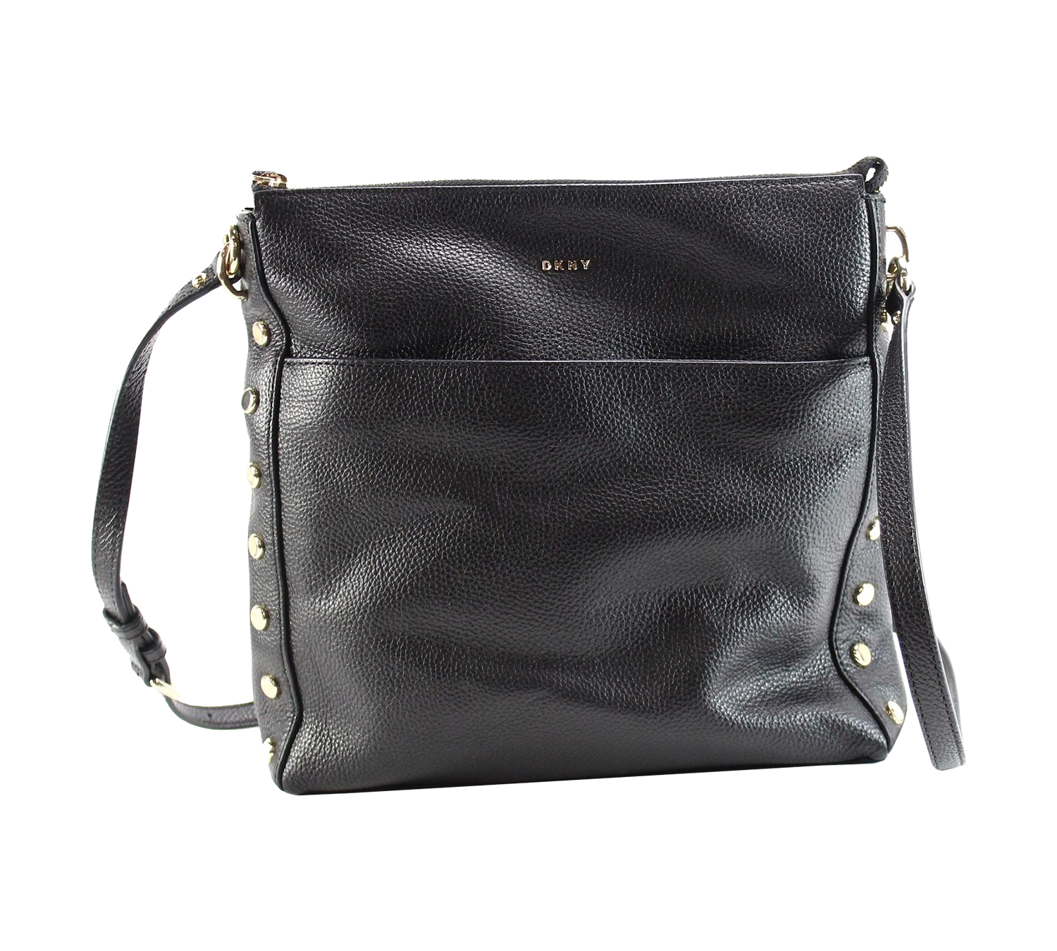 f8dcc3c6c664 Shop for DKNY Women s Chelsea Pebbled Leather Top Zip Cross Body Bag ...