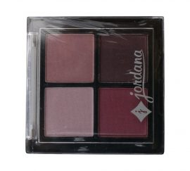 JORDANA EYESHADOW QUAD 08 BERRIES TREASURE 0.15 OZ