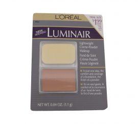 LOREAL LUMINAIR LIGHTWEIGHT CREME-POWDER MAKEUP, PALE 0.04 OZ