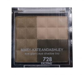 MARY-KATE AND ASHLEY EYE GLAM EYESHADOW PALETTE TRIO #728, EXCITING 0.18 OZ