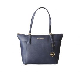 Michael Kors Womens Jet Set Item Tote Blue (Admiral)