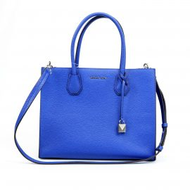 Michael Kors Mercer Large Convertible Tote Electric Blue