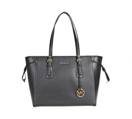 Michael Kors Voyager Medium Multifunction Tote Black
