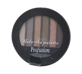 PROFUSION HALO THE PALETTE EYESHADOW, GOLD AND GREY