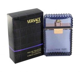 Versace Man by Versace for Men Eau de Toilette Spray 3.4 oz