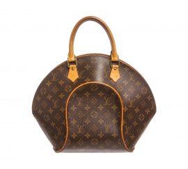 Louis Vuitton Monogram Canvas Leather Ellipse MM Bag