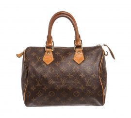 Tui da canvas Louis Vuitton Monogram Speedy 25 cm Bag