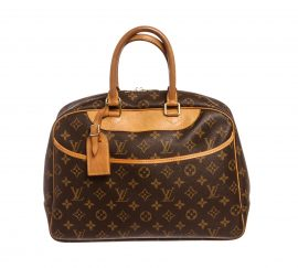 Louis Vuitton Monogram Canvas Leather Deauville