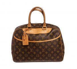 Louis Vuitton Monogram Canvas Leather Deauville