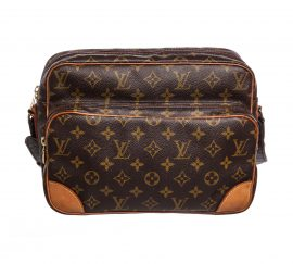 Túi đeo vai bằng da canvas Louis Vuitton Monogram Nile GM