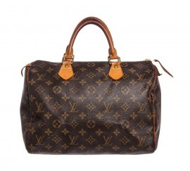 Tui da canvas Louis Vuitton Monogram Speedy 30 cm Bag