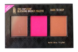 Black Radiance True Complexion Blushing Bronze Palette, Dark To Deep, 0.38 Oz