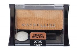 Maybelline Expert Wear Modern Metallics Eye Shadow 270s Golden Halo, 0.09 oz