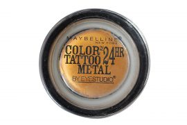 Maybelline Color Tattoo By Eyestudio 24hr Eyeshadow 65 Gold Rush Sealed
