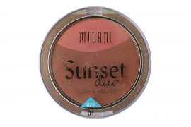 Milani Sunset Duos Blush & Bronzer, 01 Sunset City, 0.41 oz