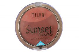 Milani Sunset Duos Blush & Bronzer In 05 Sunset Strip 0.41 oz