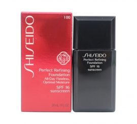 SHISEIDO Perfect Refining Foundation I 00 Very Light Ivory, 1.oz