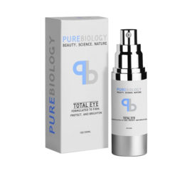 Pure Biology Total Eye Anti Aging Eye Cream 1.oz