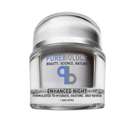 Purebiology Beauty Science Nature Enhanced Night 1.6. oz