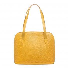 Túi đeo vai Louis Vuitton Lussac Da Epi Vàng