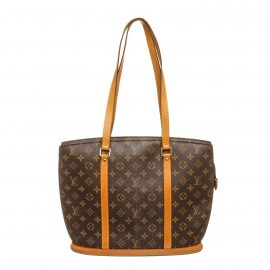 Louis Vuitton Monogram Canvas Leather Babylone Shoulder Bag