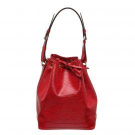 Louis Vuitton Red Epi Leather Noe GM Drawstring Sholder Bag