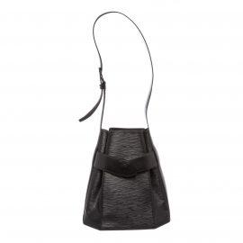 Túi đeo vai Louis Vuitton Sac D'epaule Da Epi Đen