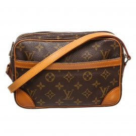 Louis Vuitton Monogram Canvas Leather Trocadero 23 cm Bag