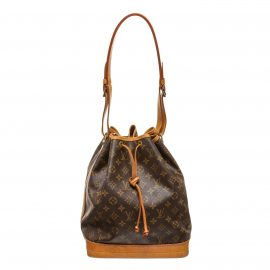 Louis Vuitton Monogram Canvas Leather Noe GM Drawstring Bag