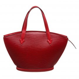 Louis Vuitton Red Epi Leather St Jacques PM Shoulder Bag