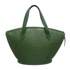 Louis Vuitton Green Epi Leather St Jacques PM Shoulder Bag