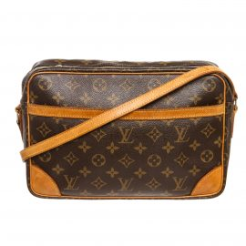 Louis Vuitton Monogram Canvas Leather Trocadero 30 cm Bag
