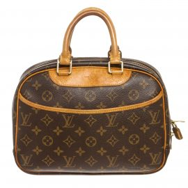 Louis Vuitton Monogram Canvas Leather Trouville Bag