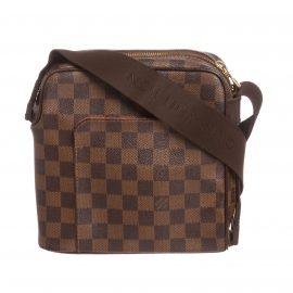 Louis Vuitton Damier Ebene Canvas Leather Olav PM Messenger Bag
