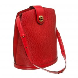 Louis Vuitton Red Epi Leather Cluny Shoulder Bag