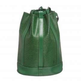 Louis Vuitton Green Epi Leather Randonne GM Backpack Bag