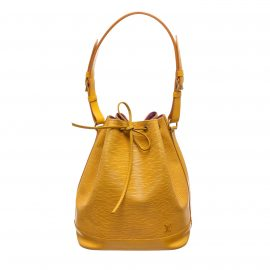 Louis Vuitton Yellow Epi Leather Noe GM Drawstring Sholder Bag