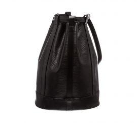 Louis Vuitton Black Epi Leather Randonne GM Backpack Bag