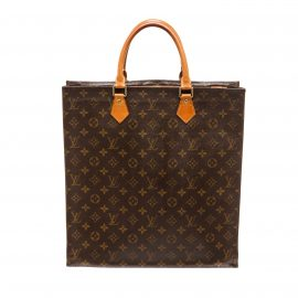 Túi Louis Vuitton Monogram Canvas Leather Sac Plat