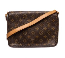 Louis Vuitton Monogram Canvas Leather Tango Crossbody Bag