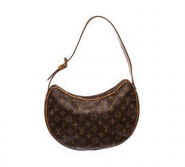 Louis Vuitton Monogram Canvas Leather Croissant MM Bag