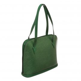 Louis Vuitton Green Epi Leather Lussac Shoulder Bag