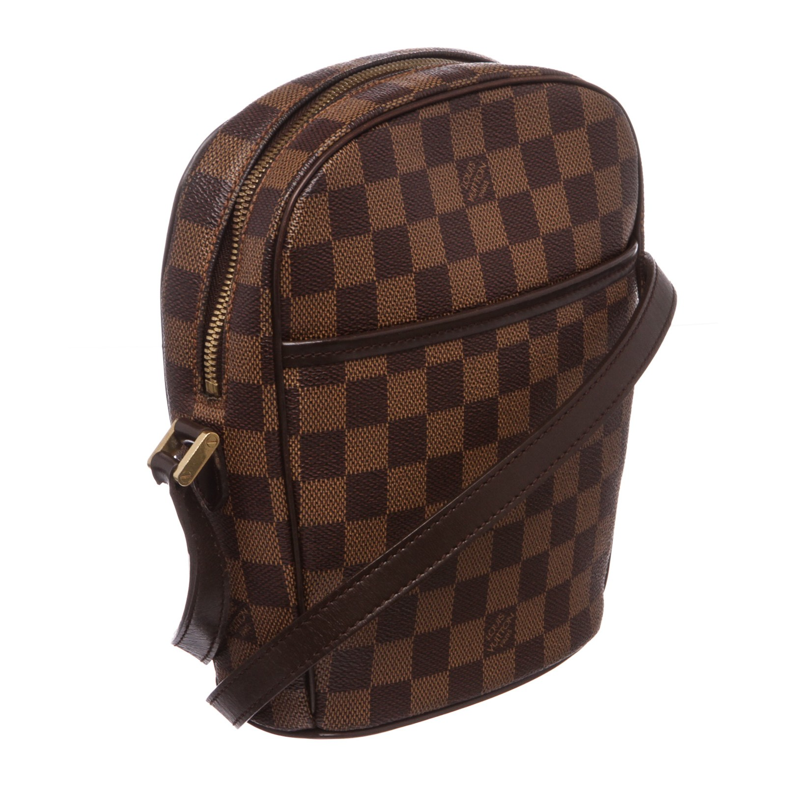 3019c8f5f2e2 Shop for Louis Vuitton Damier Ebene Canvas Leather Ipanema PM Bag ...