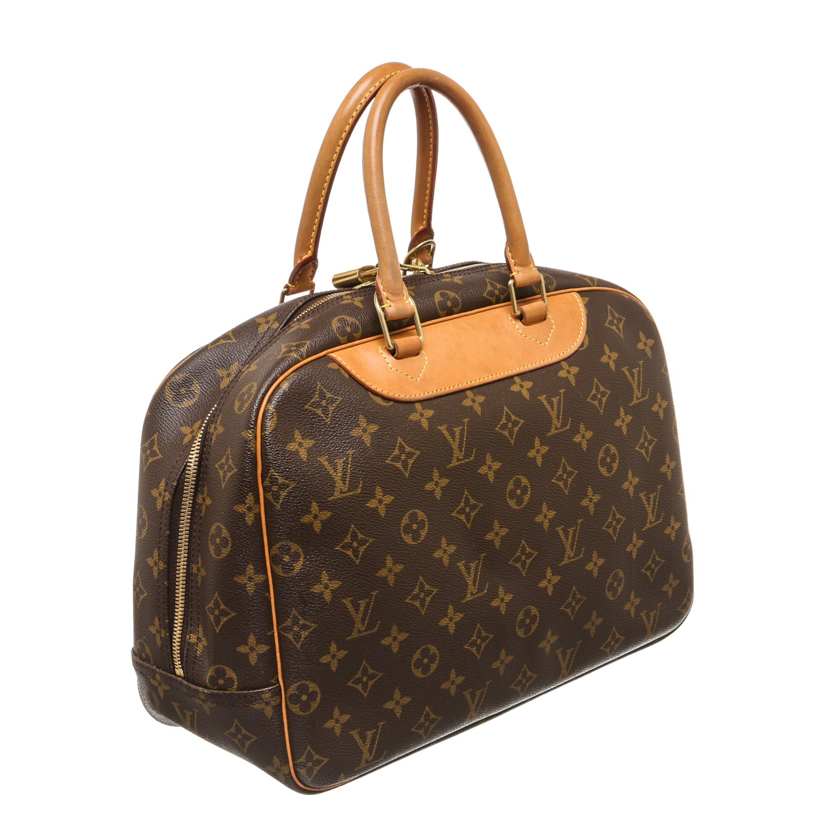 Shop For Louis Vuitton Monogram Canvas Leather Deauville Doctor Bag Shipped From Usa