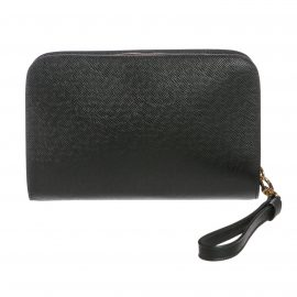 Louis Vuitton Epicea Taiga Leather Baikal Wristlet Clutch Bag